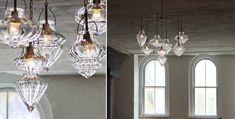 LOVE these light fixtures from CX Design Custom Lighting