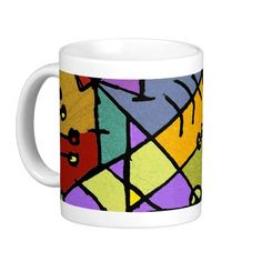 Hand Draw Artistic Design Mugs  abstract, arabesque, artistic, constructive, creative, decorative, design, illustration, multicolored, hand draw, background, beauty, digital, diversity, drawing, grunge, hechos, mystery, organic, ornamental, otras, palabras, clave, paper, pattern, primitive, retro, screen, saver, stress, strong, texture, tribal, vibrant, wallpaper