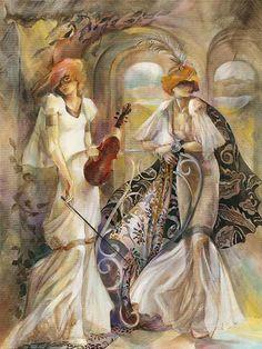 Lena Sotskova: oil paintings - ego-alterego.com