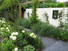 Strak en echt tuin