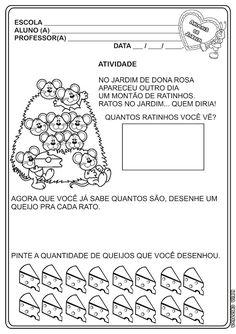 Ideia Criativa - Gi Barbosa Educação Infantil: Atividade Animais de Jardim Matemática