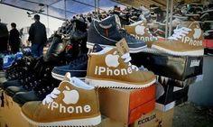 Es darf gelacht werden... Wie China unsere Marken mit Füßen tritt.