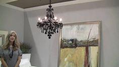 Schonbek Capella Black Crystal Chandelier Black Chandelier, Ceiling Lights, Crystals, Home Decor, Decoration Home, Room Decor, Ceiling Lamp, Crystal, Ceiling Fixtures