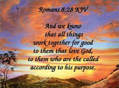 Its all #working together for our good!!!