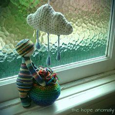 lalylala doll made by Allison G. / crochet pattern by lalylala