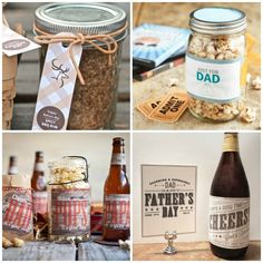Great DIY ideas for Father's Day, complete with printables!
