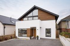 Gable Roof Design, Facade Design, Exterior Design, Architecture Design, Bungalow Exterior, Bungalow Renovation, Bungalow Extensions, Home Exterior Makeover, Property Design