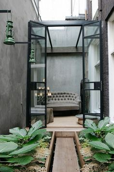 Elegance + Playfulness :: A City Terrace Rooftop Kitchen in Amsterdam…. — Glamour Drops