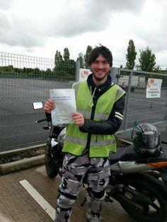 Craig........well done mate. #motorcycletrainingmanchester #cbtmanchester 0161 973 3450