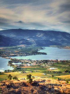 Osoyoos Lake - British Columbia, Canada, #Osoyoos