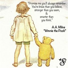 Pooh Corner Your source for all things Winnie the Pooh since Submit Ask Archive Always Remember, Winnie The Pooh, Brave, Thinking Of You, Core, Cottage, Fictional Characters, Thinking About You, Cottages