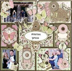 Project Ideas for Bo Bunny - Primrose Collection - 6 x 6 Paper Pad