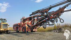 Tamrock Axera  T11 315 Jumbo Boomer zu verkaufen  http://www.ito-germany.de/kaufen/tunnelbaumaschinen #tamrock #sandvik #boomer #jumbo #mining #Equipment