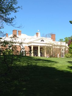 The Monticello was a beautiful house. It had many rooms I think 34 rooms