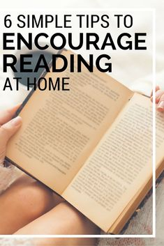 Learn 6 rock solids ways to encourage reading at home. Reading At Home, Reading Tips, Reading Strategies, Reading Skills, Student Reading, Teaching Reading, Teaching Kids, Kids Learning, Quotes About Motherhood