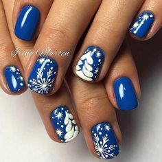 Perfect Winter Nails For The Holiday Season; Perfect Winter Nails For The Holiday Season; Christmas Nail Art Designs, Winter Nail Designs, Winter Nail Art, Winter Nails, Xmas Nails, New Year's Nails, Holiday Nails, Christmas Nails, Prim Christmas