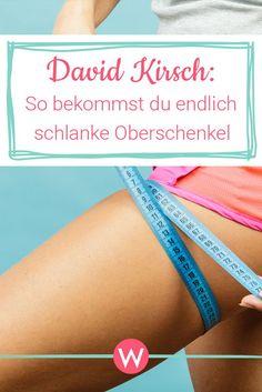 Fitness-Experte David Kirsch verrät seine Top-Übung für schlanke und straffe Oberschenkel. #schlankebeine #straffebeine #beinworkout