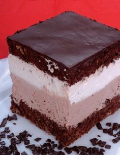 Rigó Jancsi is a traditional Hungarian and Viennese cube-shaped chocolate sponge cake and chocolate cream pastry. It gained popularity in the former Austro-Hungarian Empire and is named after Rigó Jancsi (1858–1927), a famous Hungarian Gypsy (Romani people) violinist.