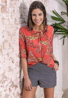#debrummodas #verão #coleção #shorts #alfaiataria #listras  #blusa  #estampa #modafeminina #moda #style #estilo #fashion