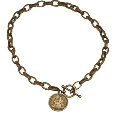 Antique French Coin Necklace