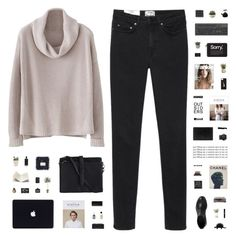 """""""YOU'RE SO FINE"""" by c-hristinep ❤ liked on Polyvore featuring Acne Studios, ESPRIT, Forever 21, Eyeko, Chanel, LSA International, Edward Bess, CASSETTE, Bershka and Pieces"""