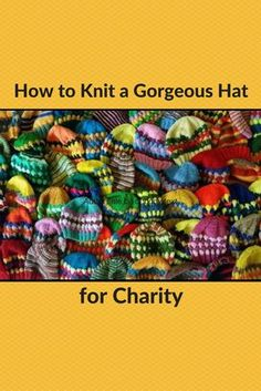 Check out this free knitting pattern from reader Ginny to create a beautiful hat for charity