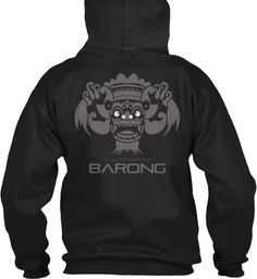 Glamour Rebelion Barong Black Sweatshirt Back