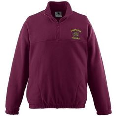 3bd603994 Augusta Chill Fleece 1/4 Zip Pullover available in youth and adult sizes.  Half