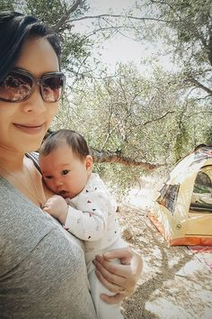 Adventures in Parenting: Camping With a Newborn