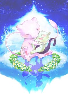 What's funny is mew 2 is younger even though he's IGNORAMUS lol
