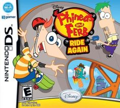 Phineas and Ferb Ride Again got this for Tristan for his birthday