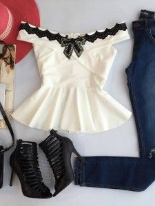 Swans Style is the top online fashion store for women. Shop sexy club dresses, jeans, shoes, bodysuits, skirts and more. Teen Girl Fashion, Cute Fashion, Fashion Outfits, Womens Fashion, Asian Fashion, Casual Outfits, Cute Outfits, Blouse Styles, Casual Looks