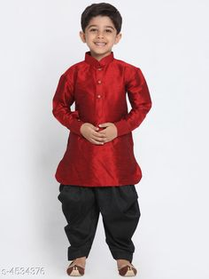 Checkout this latest Kurta Sets Product Name: * Ethnic Kid's Boy's Kurta Sets* Sizes:  6-12 Months, 12-18 Months, 18-24 Months, 1-2 Years, 2-3 Years, 3-4 Years, 4-5 Years, 5-6 Years, 6-7 Years, 7-8 Years, 8-9 Years, 9-10 Years, 10-11 Years, 11-12 Years, 12-13 Years, 13-14 Years Country of Origin: India Easy Returns Available In Case Of Any Issue   Catalog Rating: ★4 (213)  Catalog Name: Ethnic Kid's Boy's Kurta Sets Vol 12 CatalogID_655943 C58-SC1170 Code: 407-4534376-3861