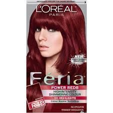 Image Result For Hair Dye Box Red