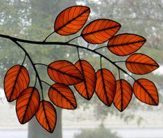 Autumn Poplar Branch - Golden Orange. $149.00, via Etsy.