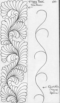 Machine Quilting Patterns Templates Sketch Books New Ideas Patchwork Quilting, Quilting Stitch Patterns, Machine Quilting Patterns, Quilting Templates, Quilt Stitching, Longarm Quilting, Free Motion Quilting, Embroidery Patterns, Quilt Patterns