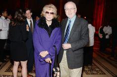 Francine du Plessix Gray and Robert Pounder