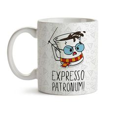 Harry Potter Presents, Harry Potter Diy, Funny Coffee Cups, Coffee Mugs, Expresso Patronum, Desenhos Harry Potter, Nerd Room, Harry Potter Drawings, Posca