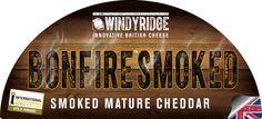 Bonfire™ Smoked Cheese Half Moon Label  by WIndyridge Cheese Ltd