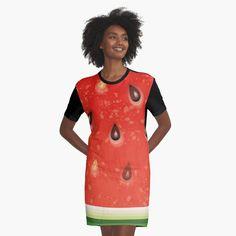 Watermelon Tattoo, Watermelon Water, Watermelon Ice Cream, Watermelon Dress, Watermelon Salad, Watermelon Tourmaline, I Dress, Shirt Dress, T Shirt