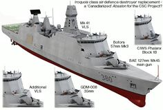 Proposed Royal Canadian Navy DDH based on Absalon Model Warships, Royal Canadian Navy, Weapon Of Mass Destruction, Navy Ships, Aircraft Carrier, Water Crafts, Battleship, Armed Forces, Military Vehicles