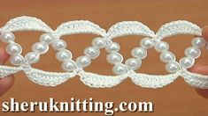 How to Crochet Lace. Tutorial 126