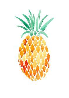 pineapple print iPhone 6 Plus wallpaper Tumblr Pineapple, Illustrations, Illustration Art, Pineapple Illustration, Pineapple Print, Pineapple Painting, Pineapple Express, Pineapple Watercolor, Gold Pineapple