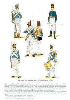 MINIATURAS MILITARES POR ALFONS CÀNOVAS: UNIFORMES del ejercito de Holanda-Belgica en las guerras Napoleonicas, fuente = Ediciones Quatour.