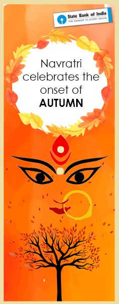 Navratri is the beginning of 9 nights of religious gaiety and fervour as it also marks the onset of autumn. It is considered to be a sacred time to worship Goddess Durga. #Navratri2016 #SBIFestiveFervour #NavratriColours #ColourDay1 #NavratriFacts