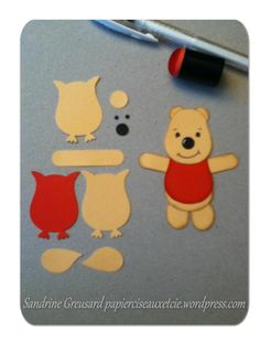 Make Winnie the Pooh using the SU! Owl Builder punch!