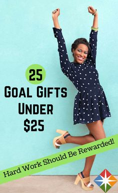Reward all your hard work with these 25 goal gifts under $25. From jewelry and essential oils to truthful tanks and custom cell phone covers, we're sure you'll find a nice little present to keep yourself motivated to get those goals!
