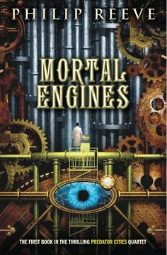 Mortal Engines by Philip Reeve. Click on the cover to see if the book's available at Otis Library.