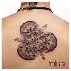 #backtattoo by @mabi_areal /// #Equilattera #Miami #Tattoo #Tattoos #Tat #Tatuaje #tattooed #Tattooartist #Tattooart #tattoolife #tattooflash #tattoodesign #tattooist #tattooer #tatted #tattedup #tattoooftheday #instatattoo #ink #inked #inkedup #art #linework #dotwork #blackwork #blackink #mandala #sacredgeometry #geometrictattoo  Posted by @WazLottus