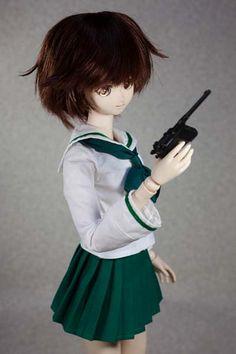 ガールズ パンツァー GIRLS und PANZER 秋山優花里 Dollypop! DP01 head.